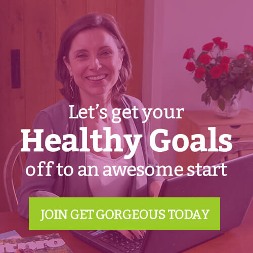 get healthy goals with get gorgeous