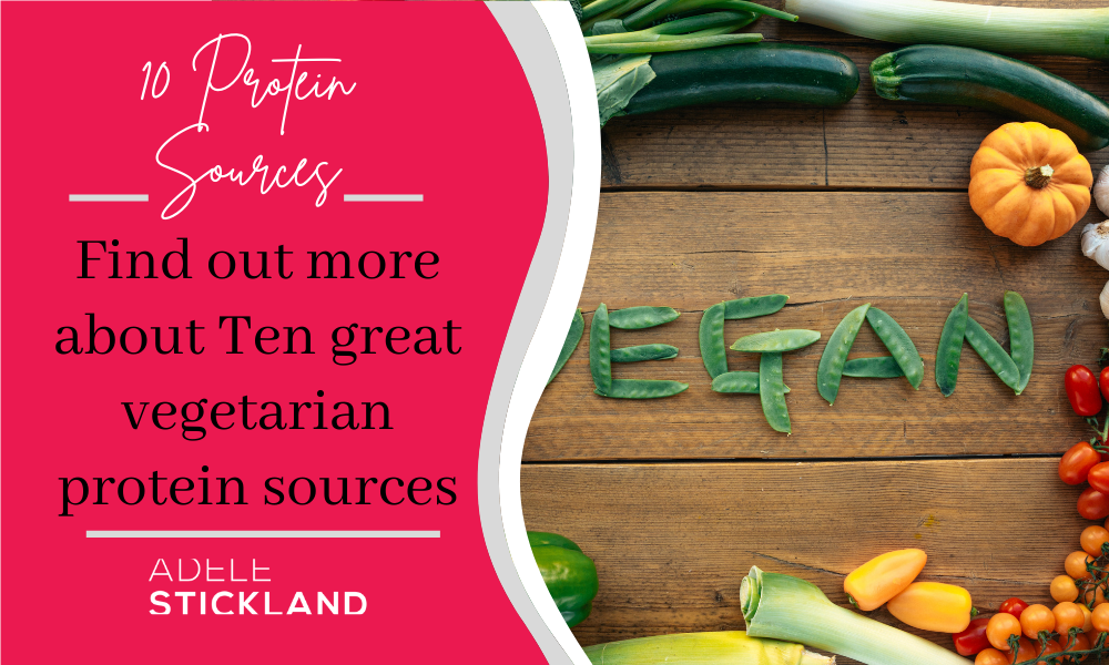 Find out more about Ten great vegetarian protein sources