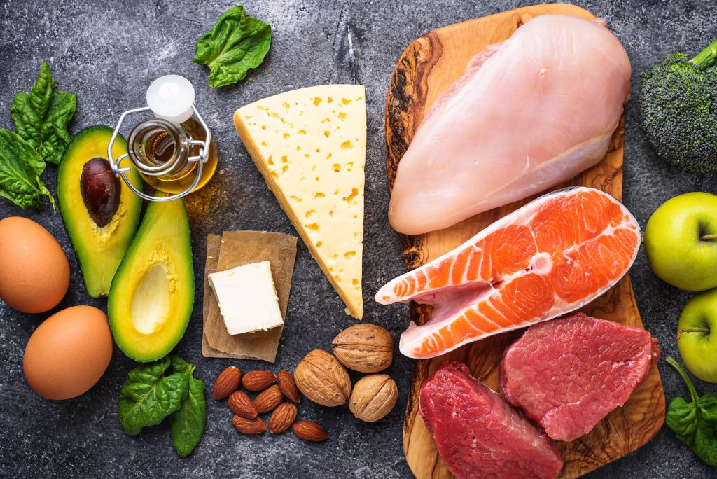 Avocades, cheese and other protein sources