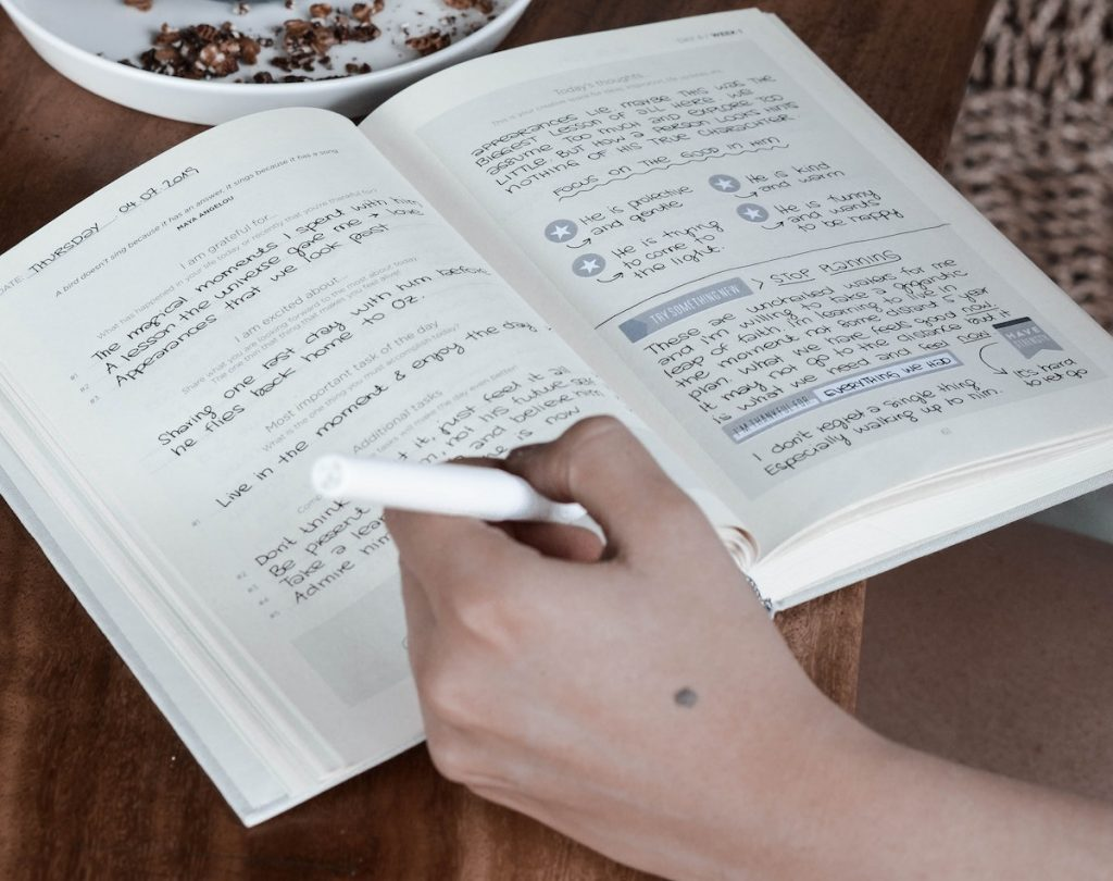 Life journal habit