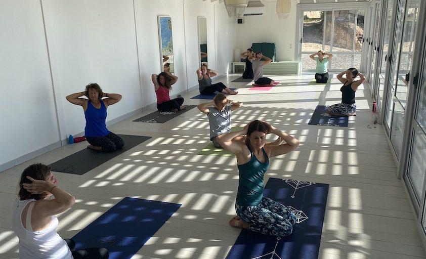 Pilates in studio